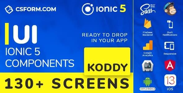 Billy | Ionic 6 / Angular 9 UI Theme / Template App | Multipurpose Starter App - 3