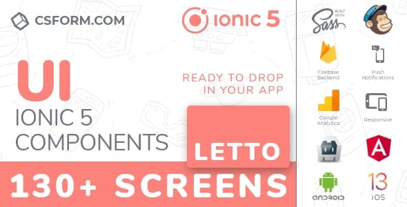 Neo Koddy | Ionic 6 / Angular 9 UI Theme / Template App | Components & Starter App - 3