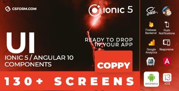 Billy | Ionic 6 / Angular 9 UI Theme / Template App | Multipurpose Starter App - 5
