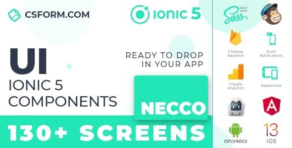 Neo Koddy   Ionic 6 / Angular 9 UI Theme / Template App   Components & Starter App - 5