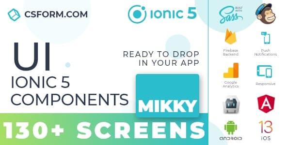 Neo Koddy   Ionic 6 / Angular 9 UI Theme / Template App   Components & Starter App - 6