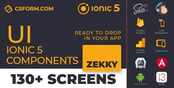 Neo Koddy | Ionic 6 / Angular 9 UI Theme / Template App | Components & Starter App - 7
