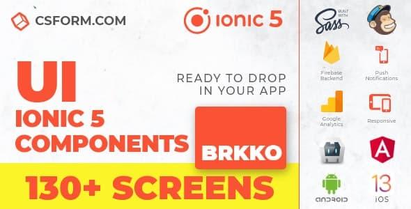 Neo Koddy   Ionic 6 / Angular 9 UI Theme / Template App   Components & Starter App - 8