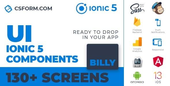 Neo Koddy   Ionic 6 / Angular 9 UI Theme / Template App   Components & Starter App - 9