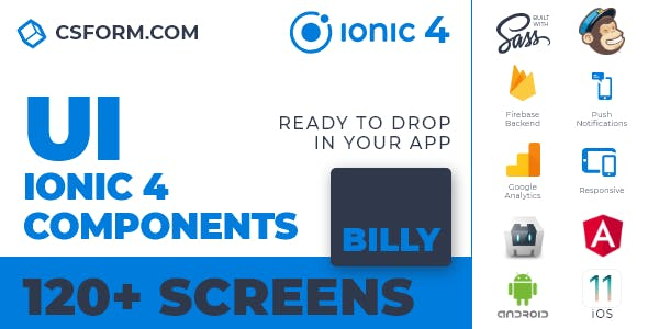 Zekky | Ionic 4 / Angular 7 UI Theme / Template App | Multipurpose Starter App - 3