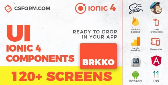 Zekky | Ionic 4 / Angular 7 UI Theme / Template App | Multipurpose Starter App - 2
