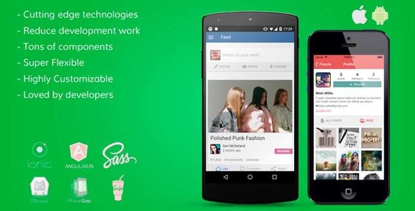 Top 10 Ionic 3 Social App Templates Csform