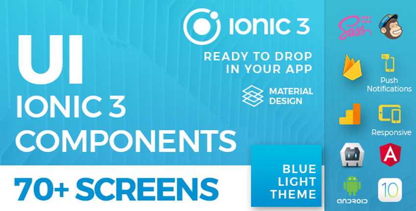 Top 10 Ionic 3 Templates | CSForm