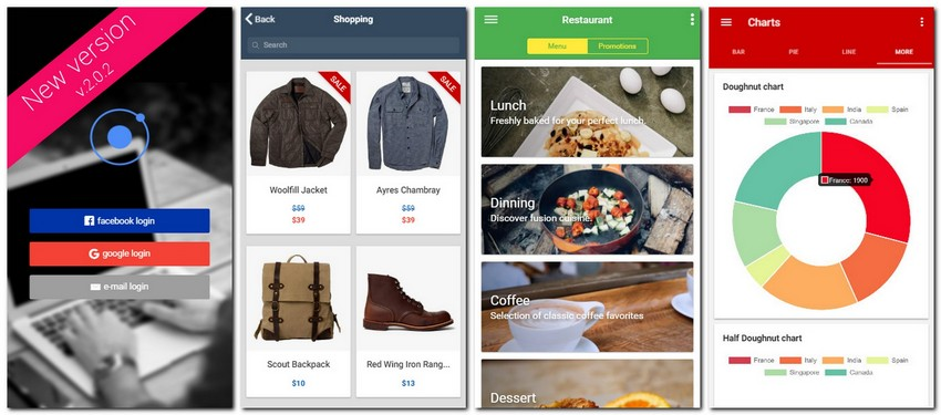 Top 10 Ionic 3 Location-Based App Templates   CSForm
