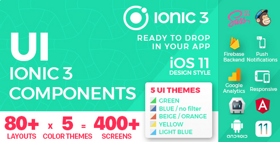 Ionic 3 & Angular 5 App Templates: Top 11 List | CSForm