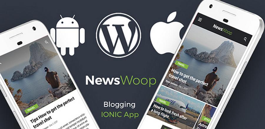 Top 10 Ionic 3 App Templates With WordPress Integration | CSForm