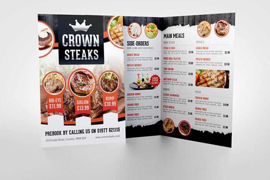 restaurant menu mockups top 12 list csform