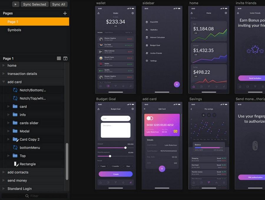 13 Best Finance App UI Kits | CSForm