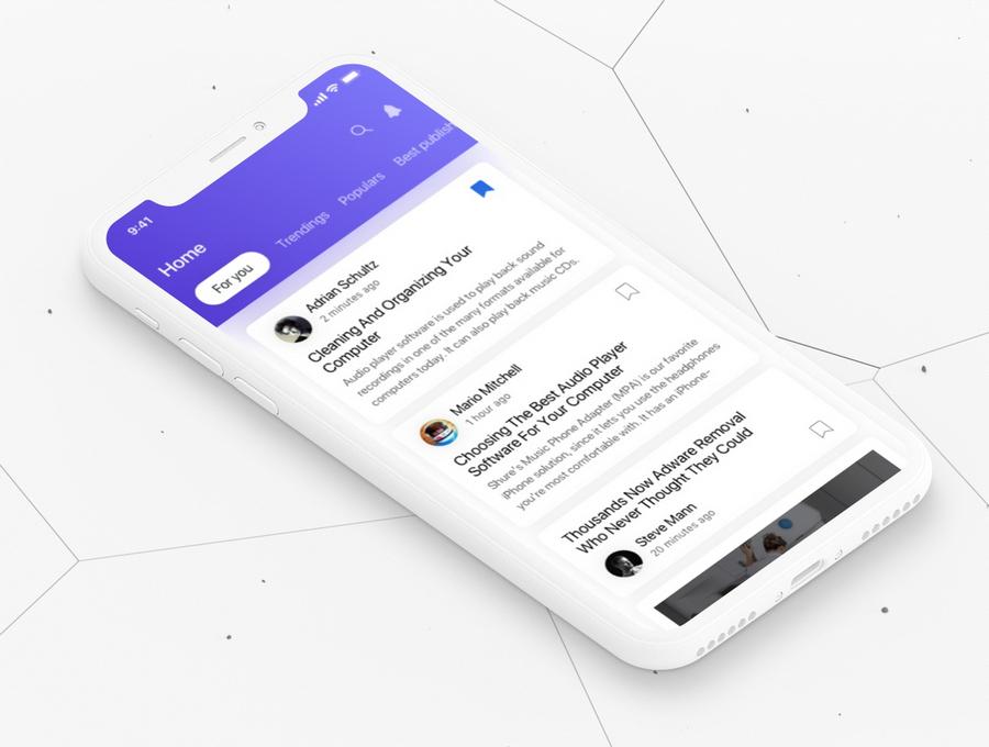 News App UI Kits: Best 11 List | CSForm
