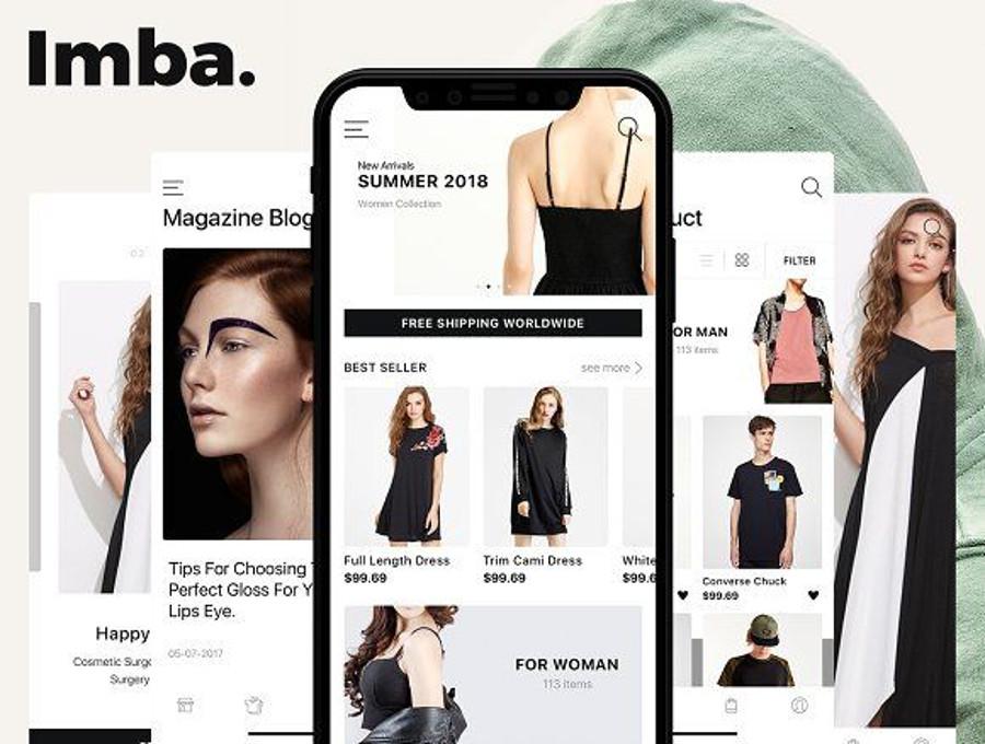Luxury Fashion Ui Kits Premium And Free List Csform