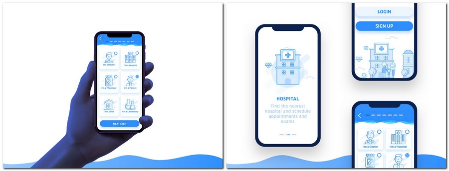 9 Best Medical Mobile App UI Kits: Premium and Free | CSForm