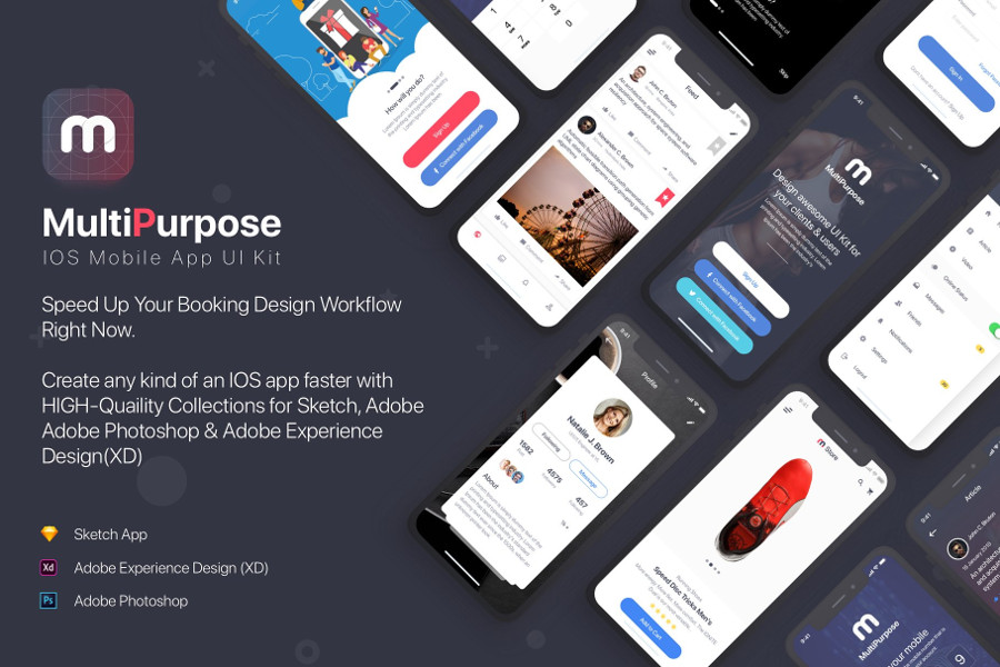 10 Mind-Blowing UI Kits for iOS Developers | CSForm