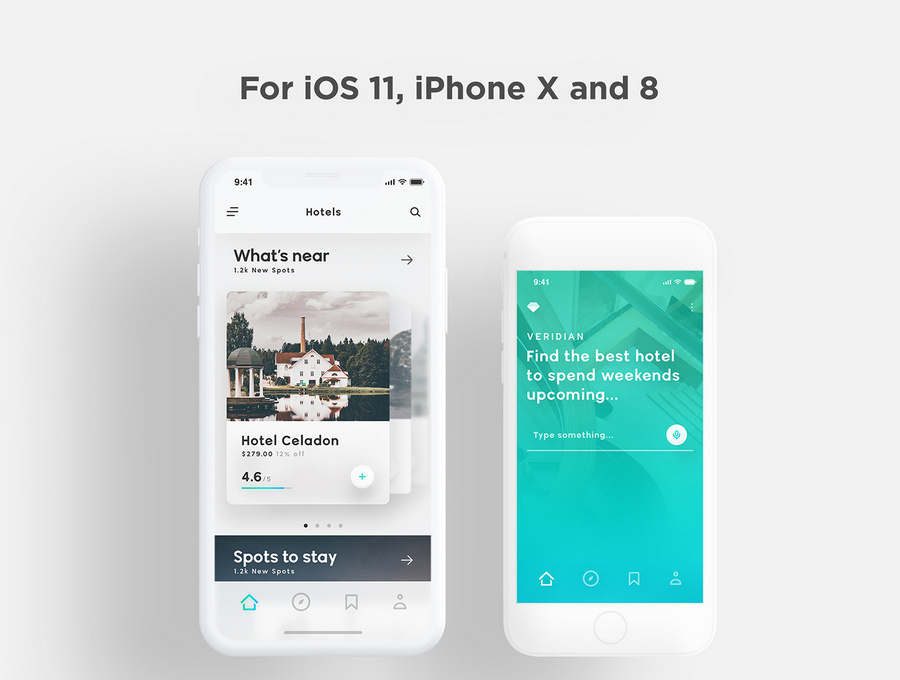 Best Hotel App UI Kits for iOS and Android | CSForm