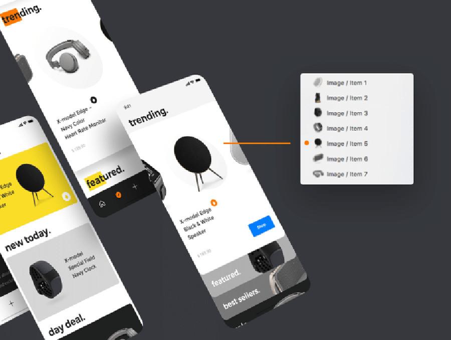 Mobile App UI Kits for iPhone X: Top 12 List | CSForm