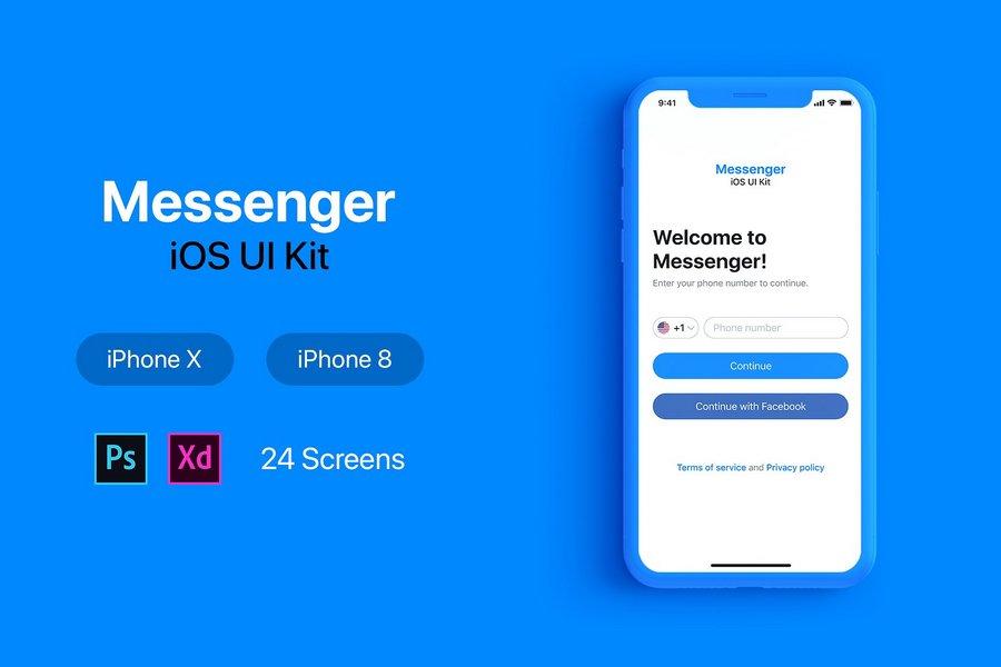 iOS 12 App UI Kits for Design Inspiration | CSForm