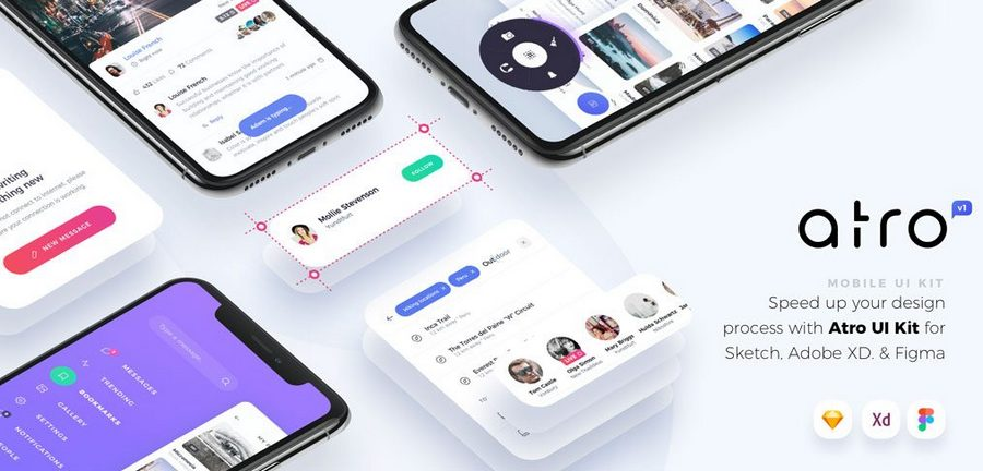 Top 12 App UI Kits With 100+ Screens | CSForm