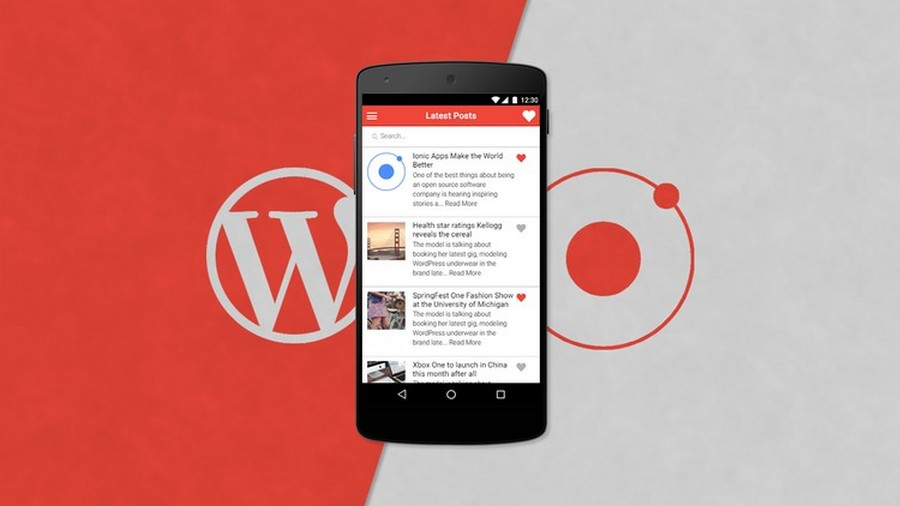 Top 10 Ionic 3 App Templates With Wordpress Integration Csform