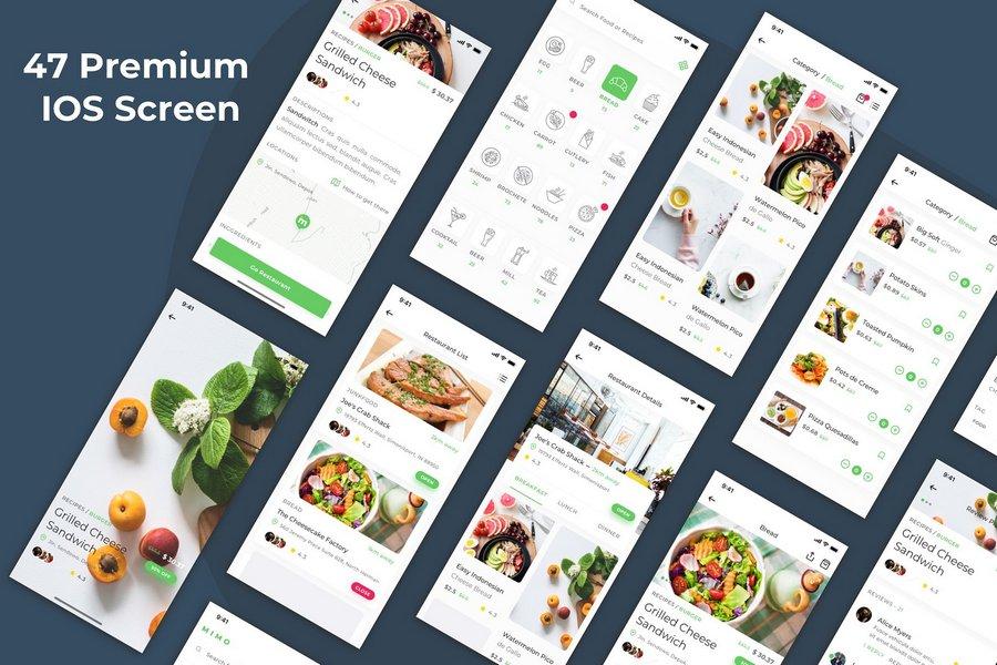 Top 12 Food Ordering App UI Kits for 2019 | CSForm