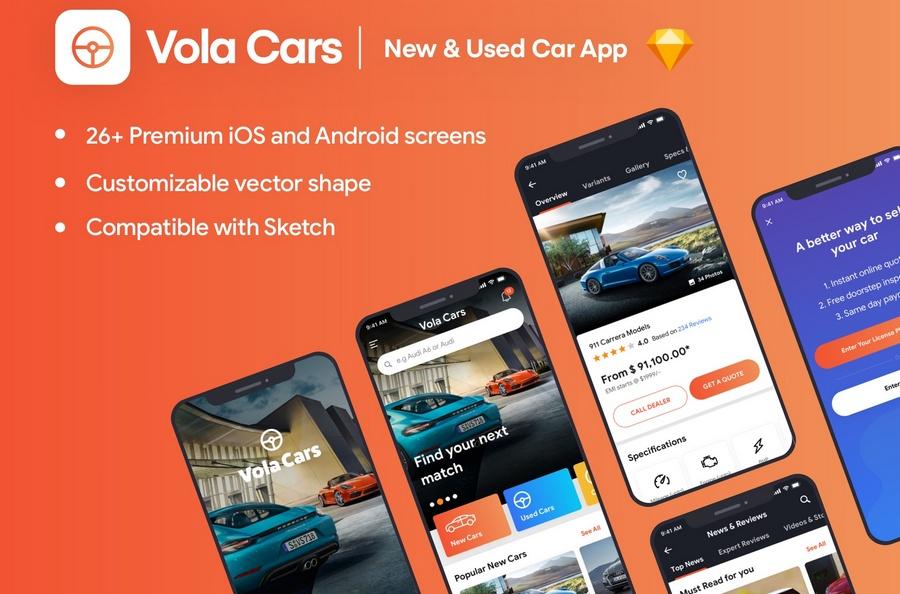 12 Latest Mobile App UI Kits for Your Inspiration | CSForm