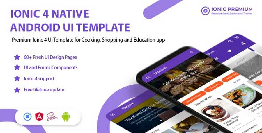Top 13 Universal Ionic 3/Ionic 4 App Templates for 2019 | CSForm