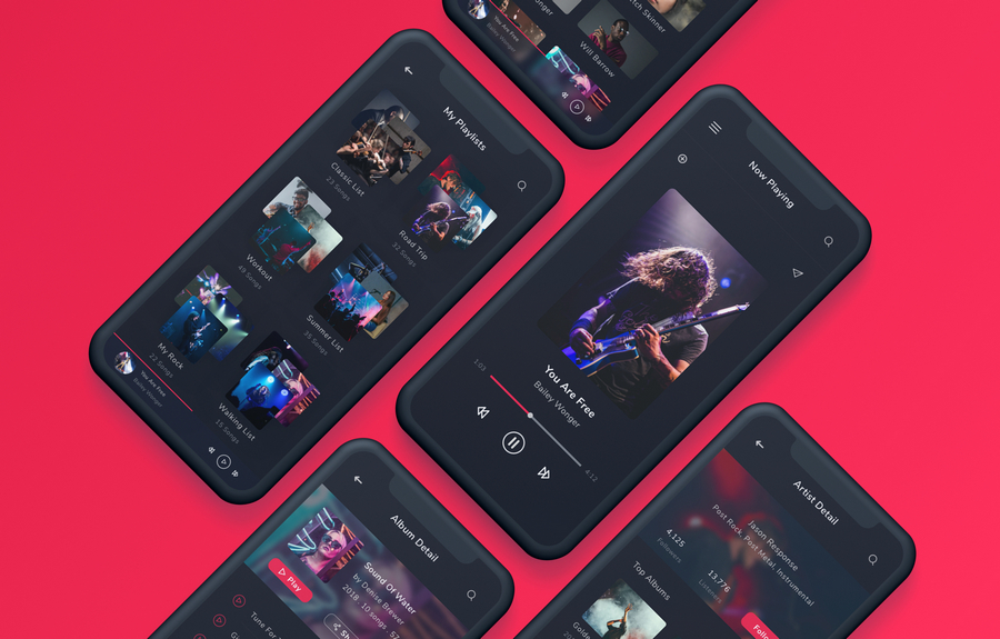 Top 15 iPhone X, XR and XS-Ready App UI Kits for 2019 | CSForm
