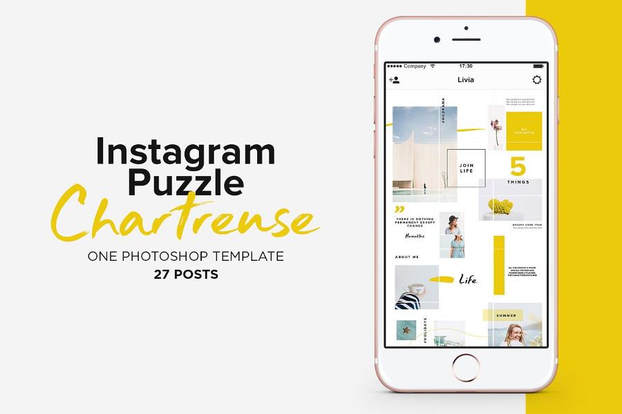 Top 12 Instagram Puzzle Templates for 2019 | CSForm